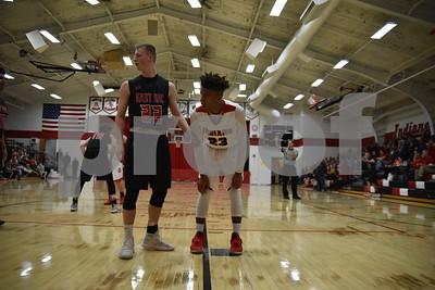 East Sac County @ Pocahontas Area Boys Basketball 1/30/18