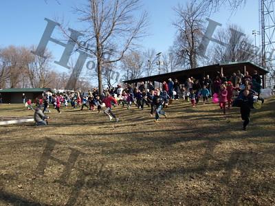 Howard Lake Lions Club 2015 Easter egg hunt