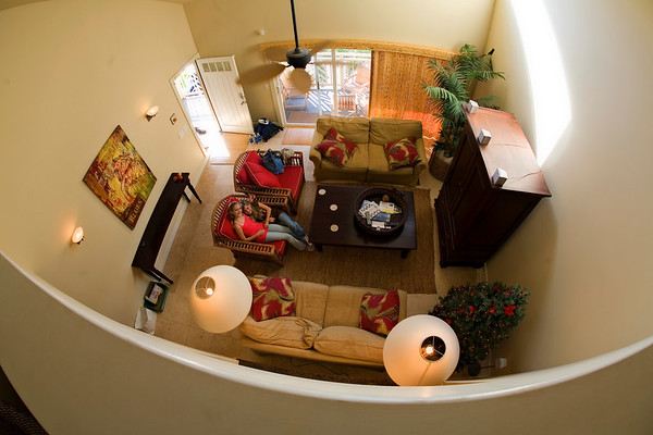 Our Condo - a Fisheye View