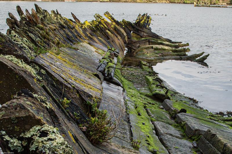 Hooe Lake Wrecks 2
