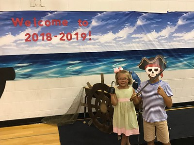 2018 Meet the Teacher Pirate Scavenger Hunt