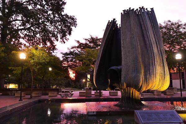 08.26.2019 - Sunrise on Campus
