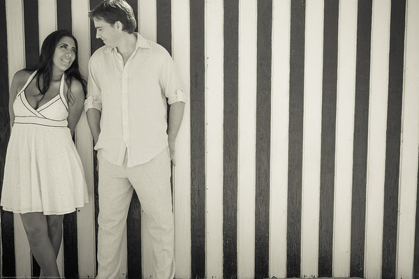 Gabriel & Jennyfer Engagement Session Miami Beach
