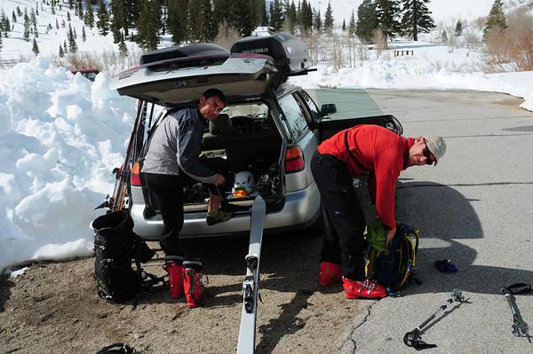Onion Valley Ski Tour April 18, 2010