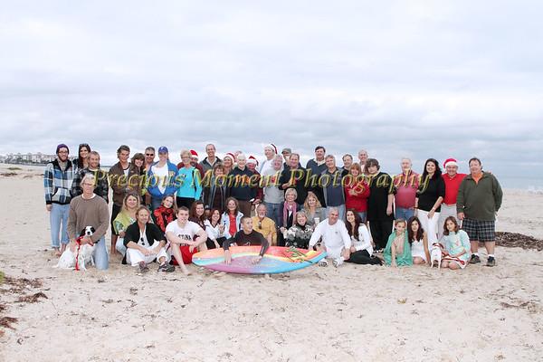 David's Annual Christmas Beach Party