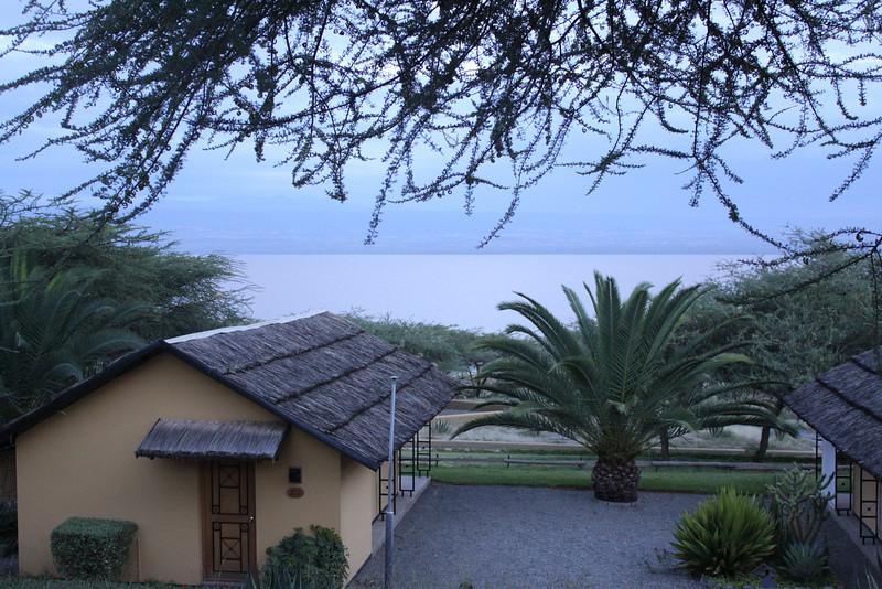 my room at Sabina Lodge on Lake Langano