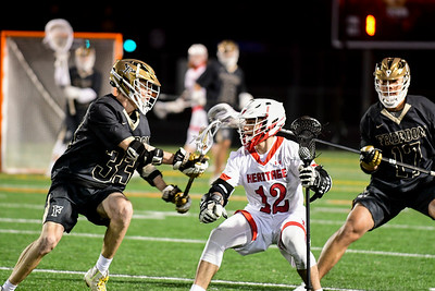 Boys Lacrosse: Heritage vs Freedom 4.2.19 (by Trish Baer)