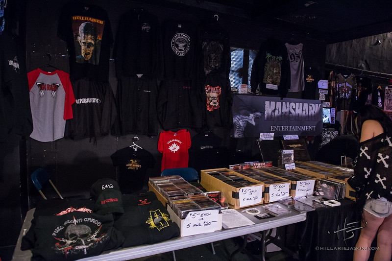 Merch Tables