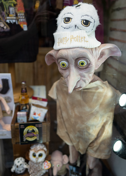 Harry Potter Merchandise in Oxford Shop Window