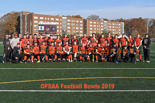 OFSAA Football 2019 Team Photos