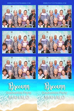 Breeann's Graduation Party (Event & Photo Booth Photos)