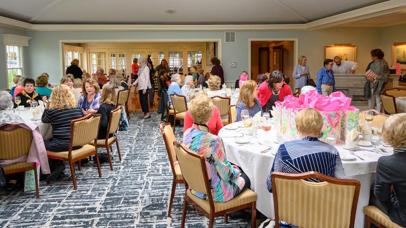 Luncheon at the Fashion show, Wayside Inn
