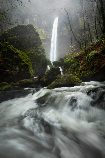 Elowah Falls Oregon Columbia River Gorge Portland Waterfall landscape photography long exposure.jpg