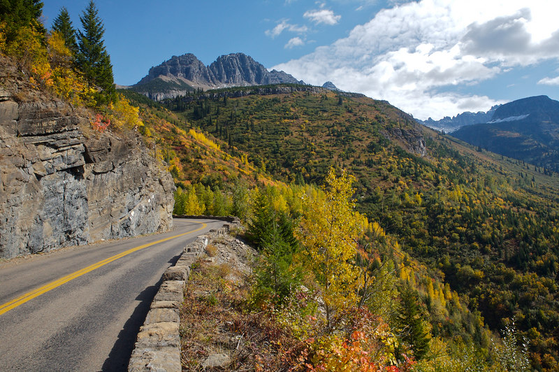 On the Going-To-The-Sun Road