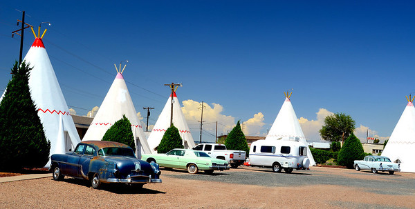 111122 - Along Route 66 -  Wigwam Motel - Holbrook, Arizona