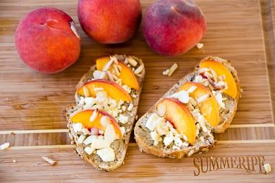 Sweet Peach Toastie