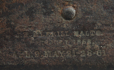 Lockplate (7698 , 7 over 85)