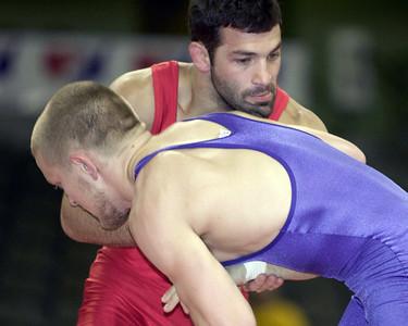 84 kg/185 lbs. Andy Hrovat, Ann Arbor, Mich. (New York AC) def. Clint Wattenberg, Ithaca, N.Y. (New York AC)