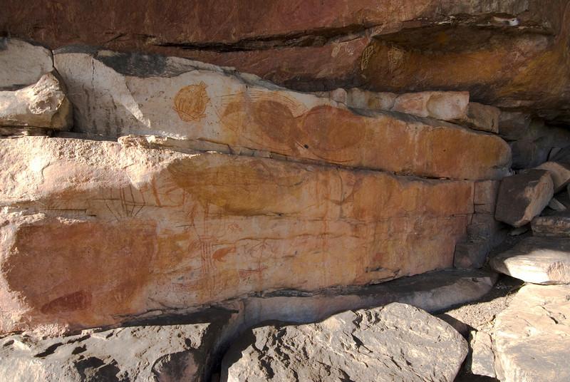 Ubirr Artwork 9, Kakadu National Park - Northern Territory, Australia