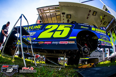 Portsmouth Speedway - Lucas Oil Late Model Dirt Series - 7/4/20 - Heath Lawson