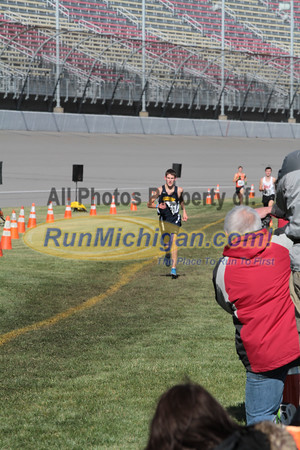 Finish Gallery 1, D2 Boys - 2014 MHSAA LP XC Finals