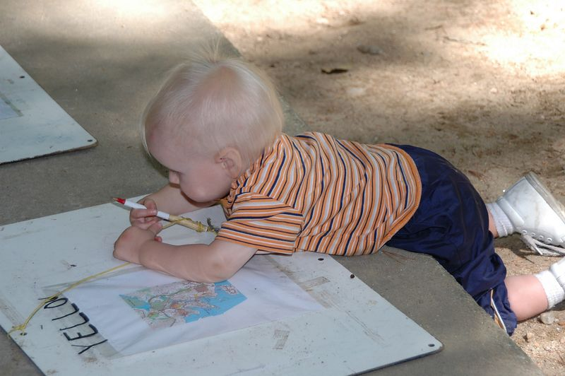 Not quite ready for the yellow course