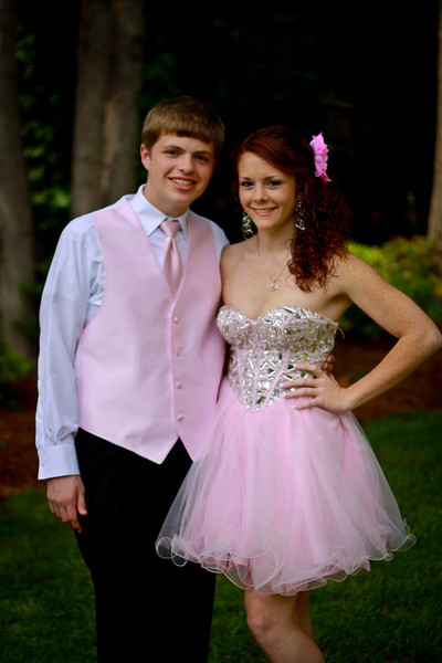 Allison & Brandon Prom 2012