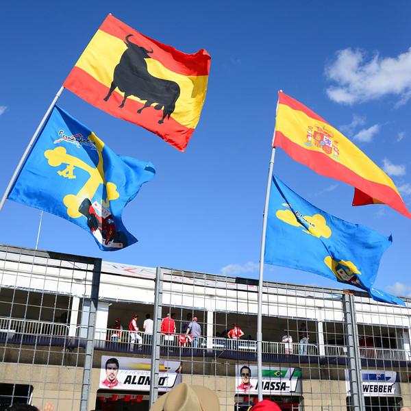 Alonso fan flags.jpg