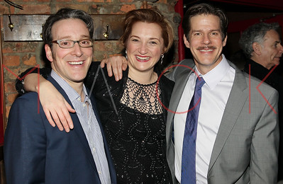 """New York, NY - January 26:  after party for the """"The New York Idea"""" Off-Broadway opening night, New York, USA."""