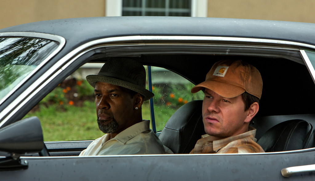 """. Left to right; Denzel Washington is a DEA agent and Mark Wahlberg a member of naval intelligence in the action film, \""""2 Guns.\"""" Provided by Universal"""