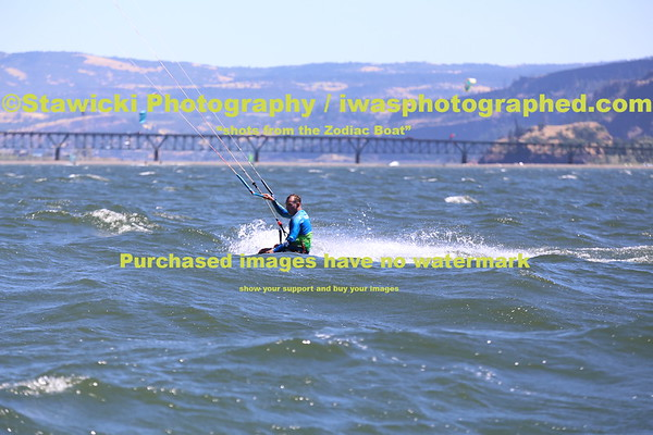 July 17, 2014 Thursday - Zodiac at the WSB to Eventsite sandbar. 392 images loaded.