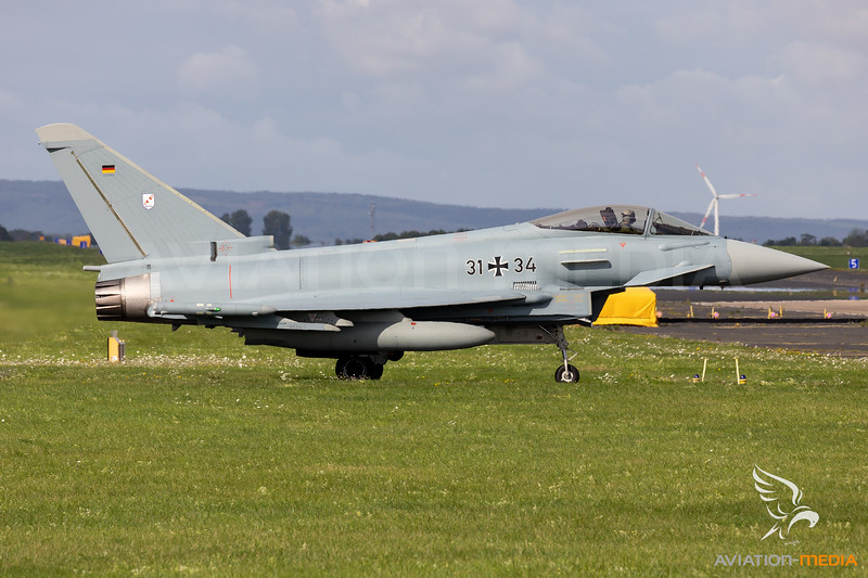 Germany - Air Force   Eurofighter EF2000 Typhoon   31+34