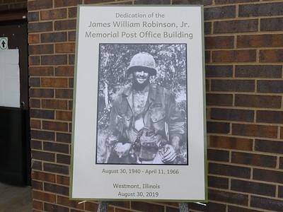 James Robinson Westmont Post Office Dedication