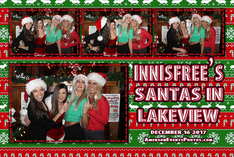 Innisfree Santas in Lakeview 2017