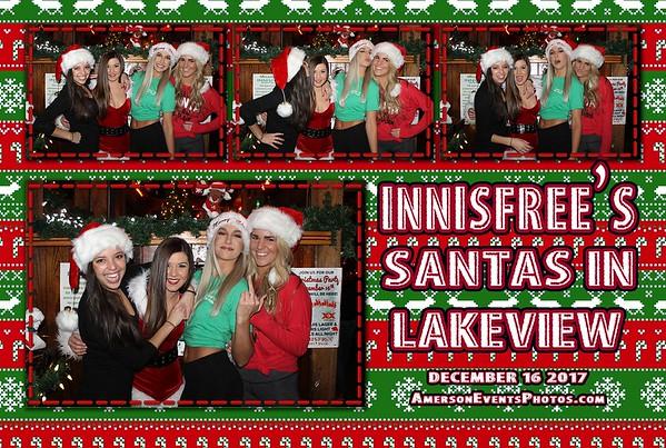 Innisfree Santas in Lakeview 2017