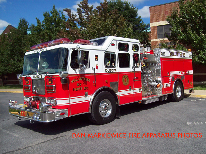 VOLUNTEER HOSE CO. DUBOIS ENGINE 72 1999 SEAGRAVE PUMPER
