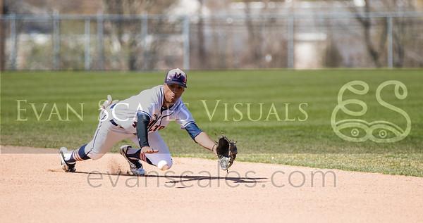 Mustangs Varsity Baseball - Apr. 16, 2016