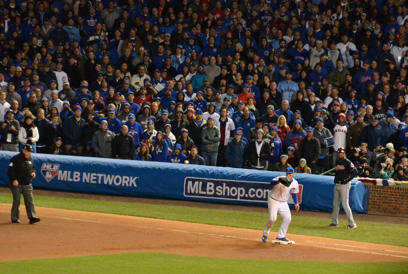 The last out of Game 5.