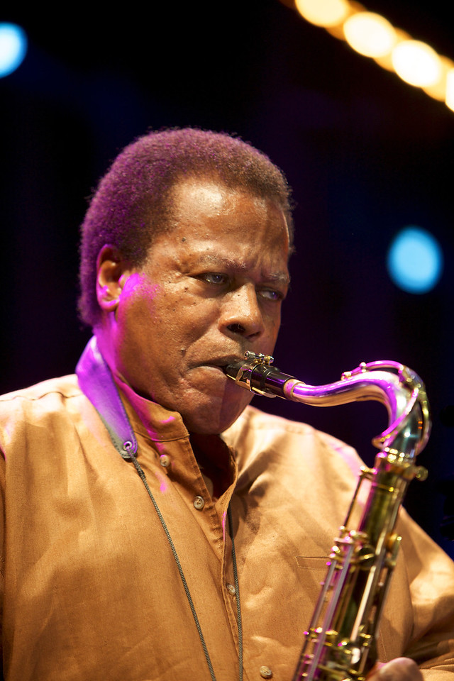 Wayne Shorter playing with Herbie Hancock and Marcus Miller at Jazz à Juan on 7/15/11