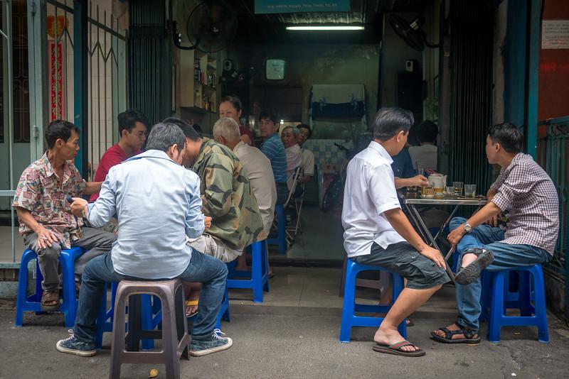 Rainy day in Saigon.