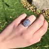 1.82ctw Diamond Cluster Ring 13