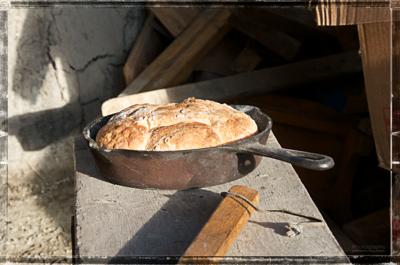 Baking On The Farm