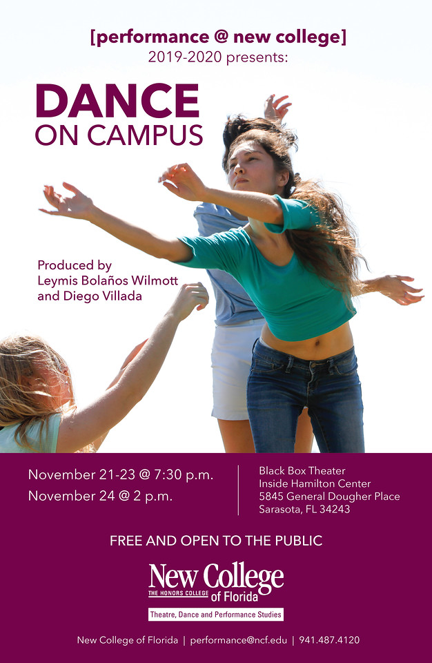 Dance on Campus poster