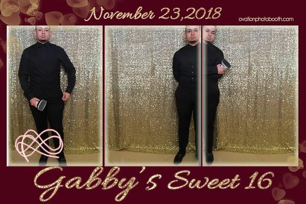 Gabs Sweet 16