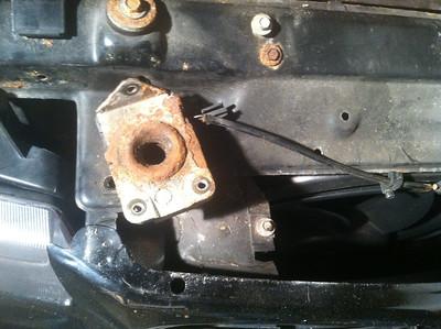 E36 Aerocatch Hood Pin Install