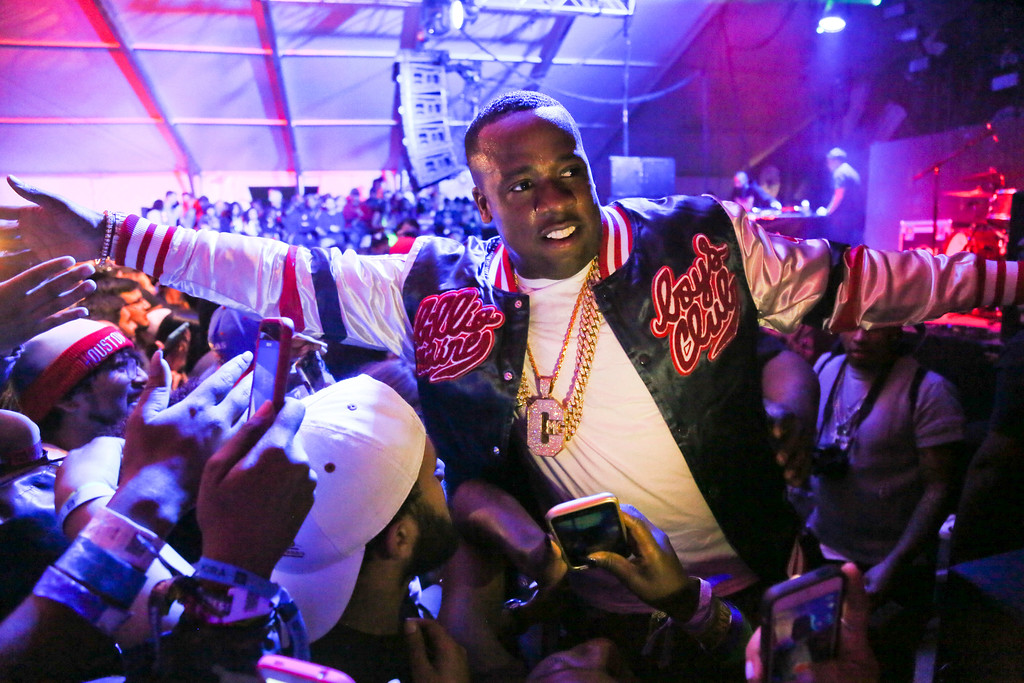 . Yo Gotti, shown during the 2016 South by Southwest Music Festival, will be part of the Z107.9 Summer Jam concert on Aug. 31 at the Wolstein Center in Cleveland. For more information, visit wolsteincenter.com/event/summerjam2018. (Photo by Jack Plunkett/Invision/AP)
