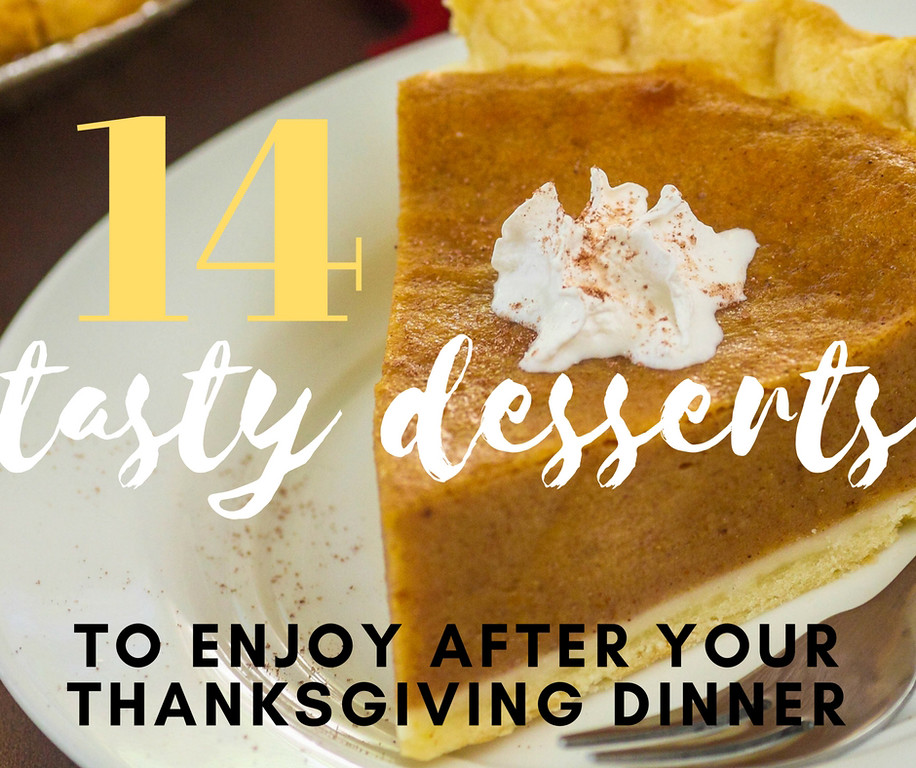 . The turkey is the star of the show, but, I mean, c\'mon. Dessert after Thanksgiving dinner is pretty wonderful.