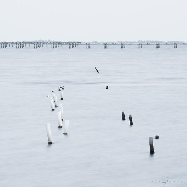 Blue dock IV
