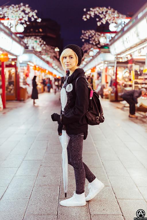 Miranda Ibanez in Tokyo by Adam Elmakias
