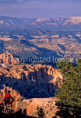 Bryce Canyon National Park , Red Canyon & Casto Canyon, Utah - Biking